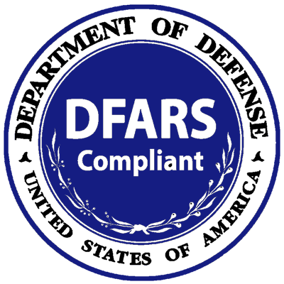Department of Defence DFARS Compliant